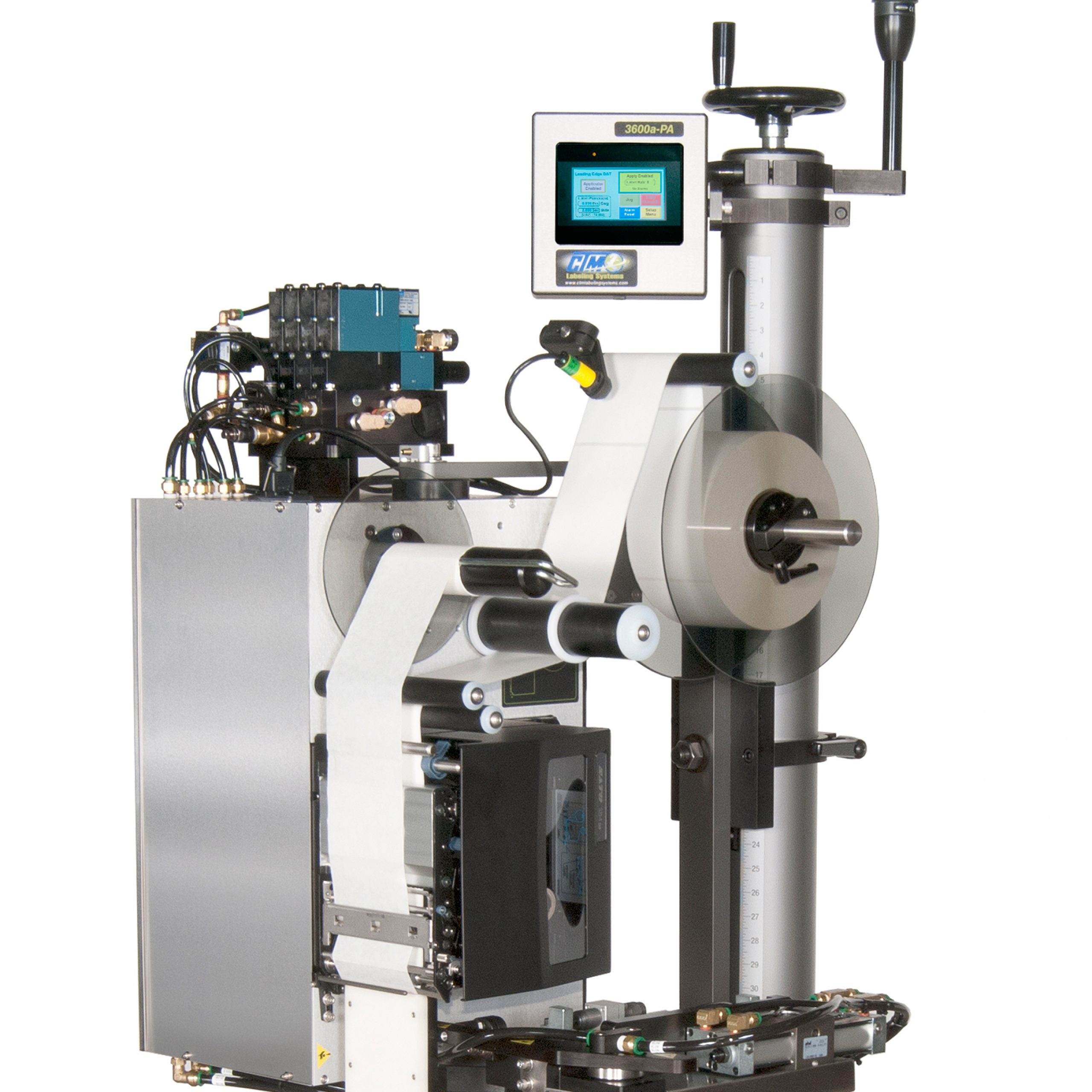 CTM Labeling Systems' 3600a-PA DAT Dual Action Tamp Applicator