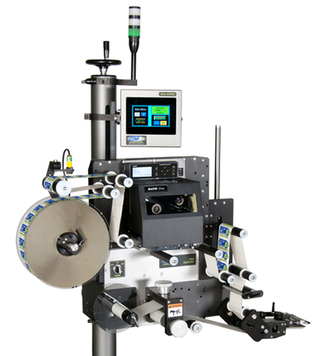 CTM Labeling Systems' Print and Apply Label Applicators
