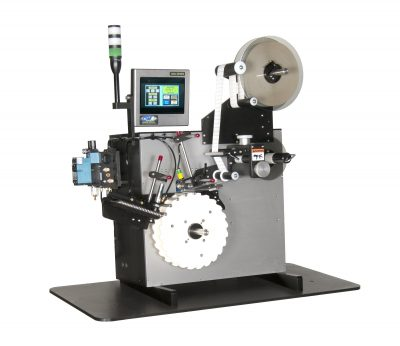CTM Labeling Systems' Tabletop Vial Wrap System