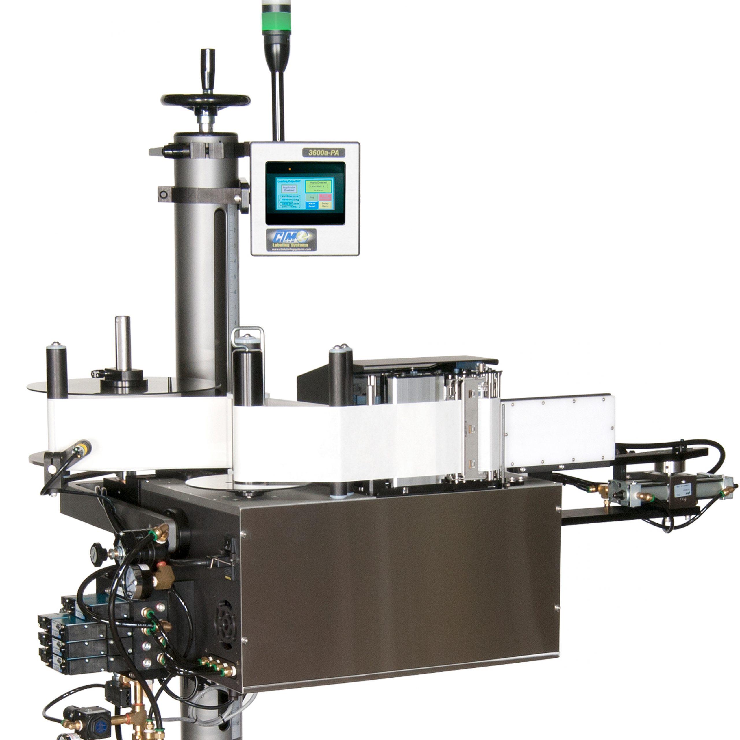 CTM Labeling Systems' Corner Wrap Printer Applicator