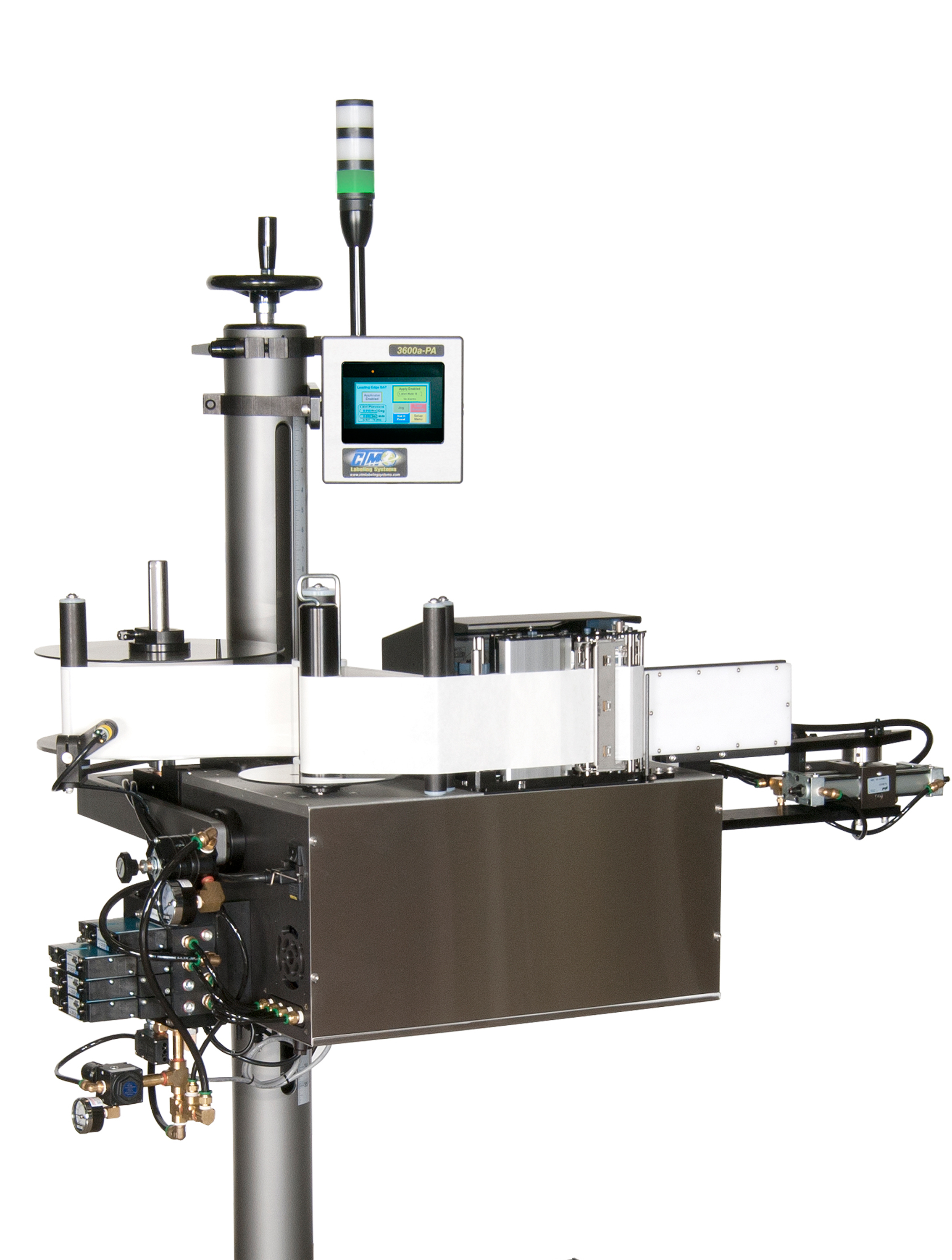 CTM Labeling Systems' Corner Wrap Printer Applicator
