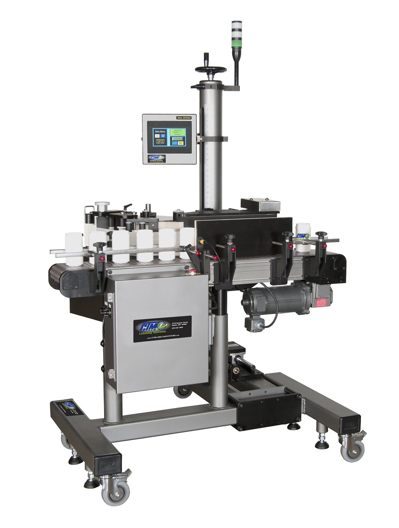 CTM Labeling Systems' 360a WR Wrap System