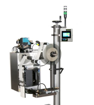 CTM Labeling Systems' Swing Tamp Print and Apply Labeler