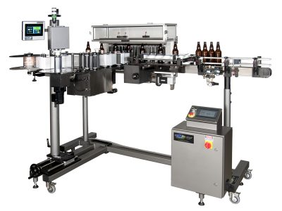 Custom Bottle Labeling Machine from CTM Labeling Systems