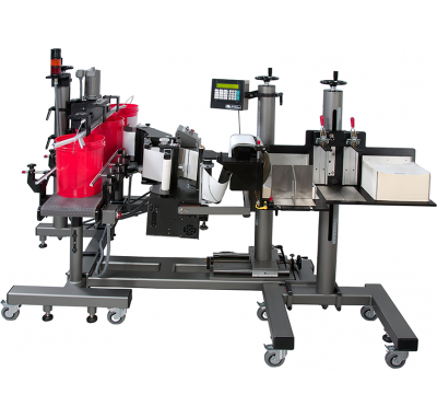 CTM Labeling Systems' Pail Labeler