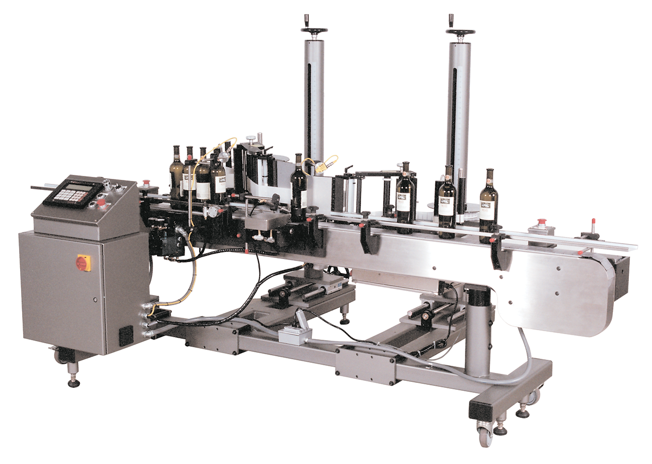 CTM Labeling Systems' Wine Bottle Label Applicator