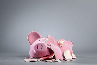 Label Systems Broke Piggy Bank
